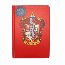 PRE ORDER Harry Potter A5 Notebook Gryffindor