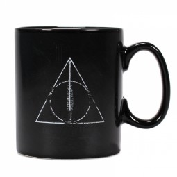 PRE ORDER Harry Potter Heat Change Mug Deathly Hallows