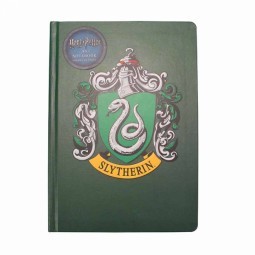 PRE ORDER Harry Potter A5 Notebook Slytherin