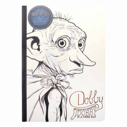 PRE ORDER Harry Potter Dobby A5 Notebook