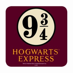 PRE ORDER Harry Potter Coaster Hogwarts Express