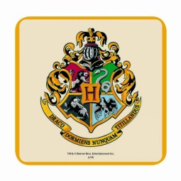 PRE ORDER Harry Potter Coaster Hogwarts Crest
