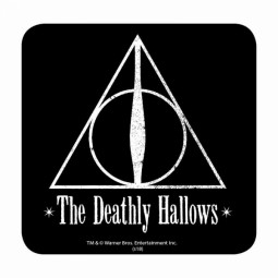 PRE ORDER Harry Potter Coaster Deathly Hallows