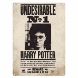 Harry Potter Undesirable No.1 Small Metal Sign