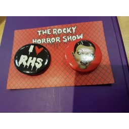 Rocky Horror Show Button Badges