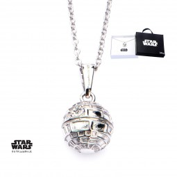 Star Wars Sterling Silver Death Star 3D Pendant