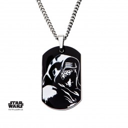 Star Wars Stainless Steel Episode7 Kylo Ren Dog Tag Pendant