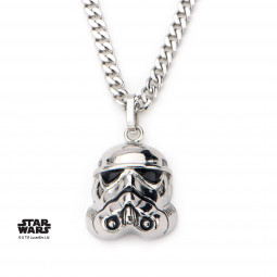 Star Wars Stainless Steel Stormtrooper 3D Pendant