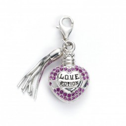 Harry Potter Love Potion Charm Sterling Silver embellished with Swarovski Crystals