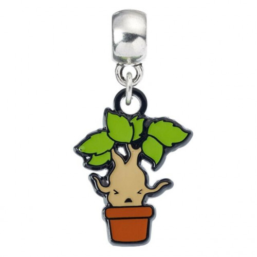 Harry Potter Slider Charm Mandrake Chibi Style