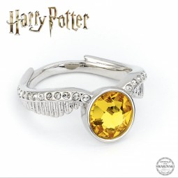 Harry Potter Golden Snitch Ring embellished with Swarovski Crystals