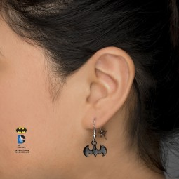 DC Batman Dangle Earrings