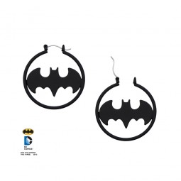 DC Batman Hoop Earrings