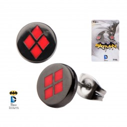 DC Harley Quinn Earrings