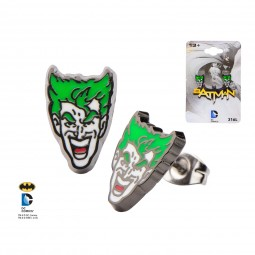 DC Joker Earrings