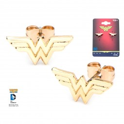 DC Wonder Woman Logo Earrings