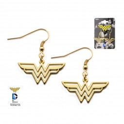 DC Wonder Woman Dangle Earrings