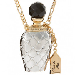 Disney Couture Alice Drink Me Bottle Necklace