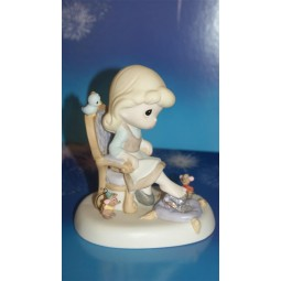Disney Precious Moments Cinderella with Slipper
