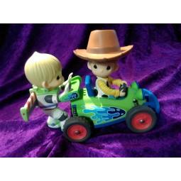 Disney Precious Moments Buzz Lightyear & Woody