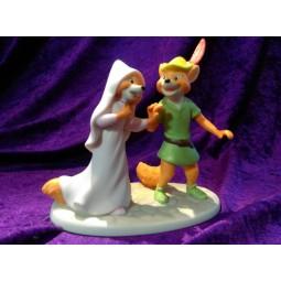 Disney Showcase Robin Hood & Maid Marion Figure