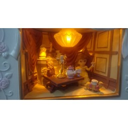 Disney Precious Moments Be Our Guest Music Box