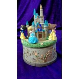 Disney Precious Moments  Princess Castle Music Box