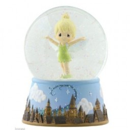 Disney Precious Moments Tinker Bell Over London Waterglobe