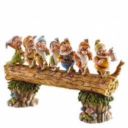 Disney Traditions Seven Dwarfs Homeward Bound