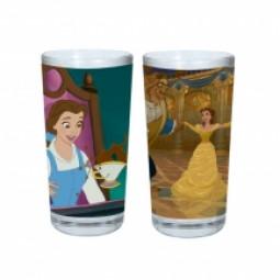 Disney Beauty & the Beast Set of 2 Glasses