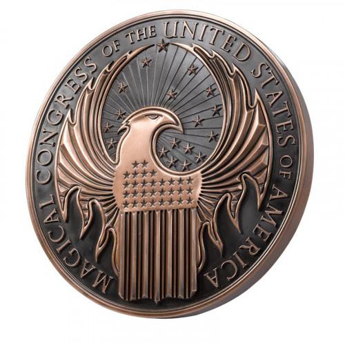 Fantastic Beasts Macusa Wall Emblem
