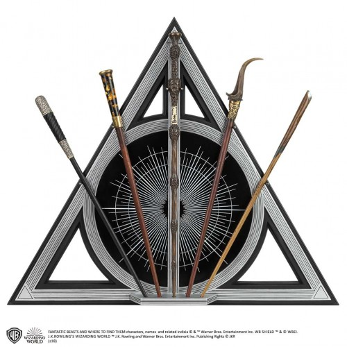 Fantastic Beasts Crimes of Grindelwald Collectors Wand Set
