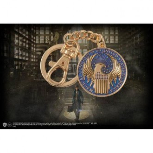 Fantastic Beasts Macusa Keychain Noble