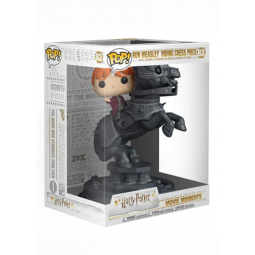 Harry Potter Funko Pop Number 82 Ron Weasley riding Chess Piece