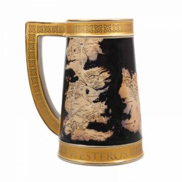 PRE ORDER Game of Thrones Westeros Map Stein
