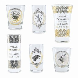 Game of Thrones Premium Shot Glass Set
