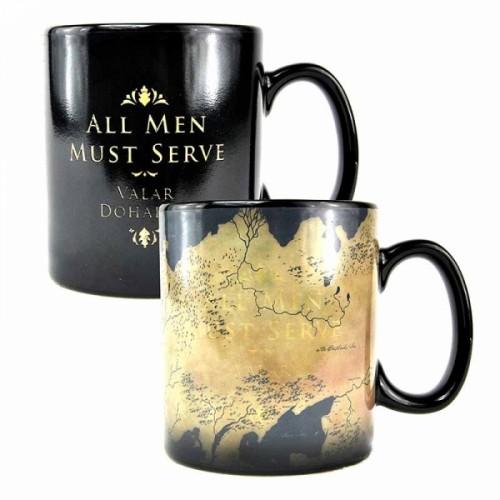 Game of Thrones Heat Change Mug Map