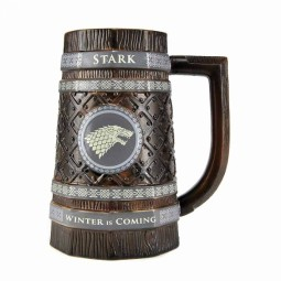 Game of Thrones Embossed Stein Mug Stark