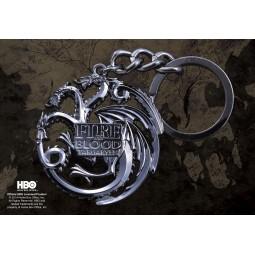 Game of Thrones Targaryen Keychain