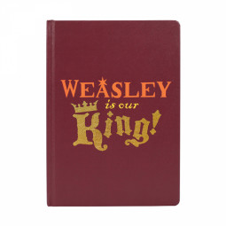 Harry Potter Weasley Is Our KIng Notebook