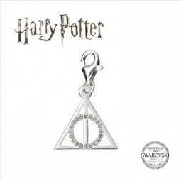 Harry Potter Swarovski Collaboration Deathly Hallows Clip On Charm