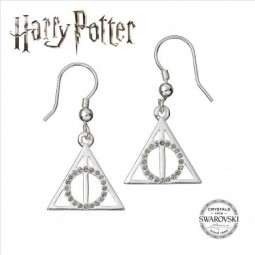 PRE ORDER HARRY POTTER SWAROVSKI DEATHLY HALLOWS EARRINGS
