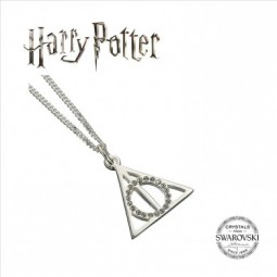 PRE ORDER HARRY POTTER SWAROVSKI DEATHLY HALLOWS NECKLACE