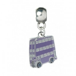 Harry Potter Slider Charm Silver Plated Knight Bus