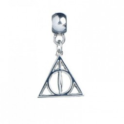 Harry Potter Silver Plated Deathly Hallows Slider Charm