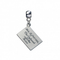 Harry Potter Silver Plated Hogwarts Acceptance Letter Charm