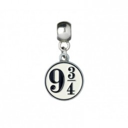 Harry Potter Silver Plated Platform 9 3/4 Slider Charm