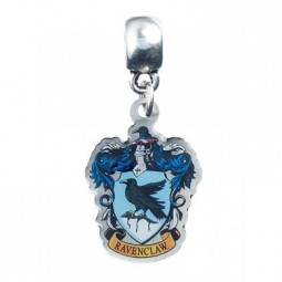 Harry Potter Slider Charm Silver Plated Ravenclaw Crest