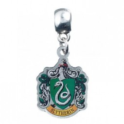 Harry Potter Silver Plated Slytherin Slider Charm