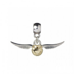 Harry Potter Slider Charm Silver Plated Golden Snitch